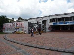'Lenin Plaza' at the National University
