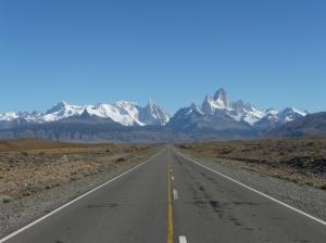 Ruta 40 into El Chalten