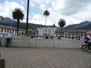 Zipaquira - town of salt mine.