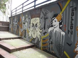 Respected street art.