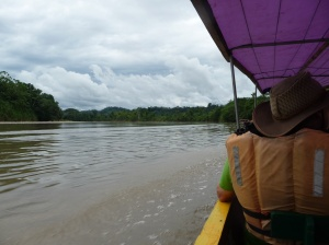 Boat trip down the Anzo River