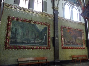 Paintings of the 'miracles'