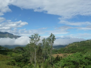 The journey out of Cuenca to the Peruvian border