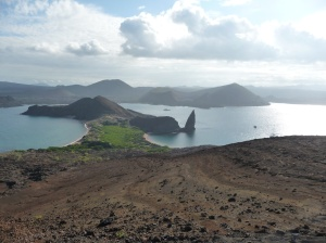 View from Bartolomé Island