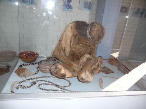 Mummy at Chauchilla Cemetery