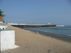 The pier of Huanachaco