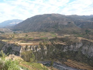 heading for the condors at Colca Canyon