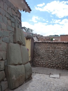 Inca walls in Cusco