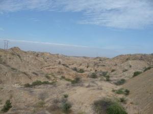 The drive to Huanachaco