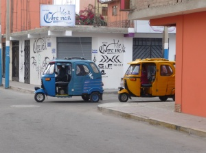 Getting around in Pisco