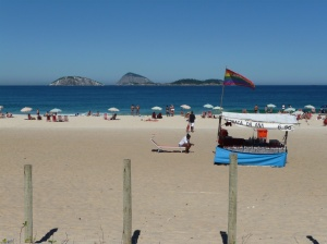 Ipanema beach midweek