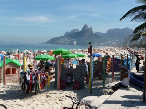 Ipanema pumping on the weekend