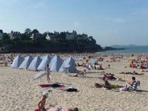The beach of Dinard, which inspired Picasso