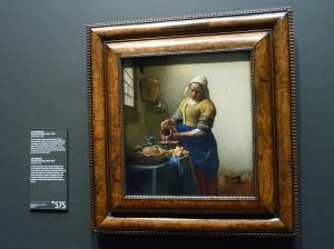 The Milkmaid, Johannes Vermeer