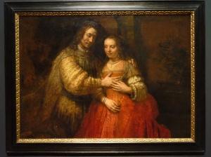 The Jewish Bride, Rembrandt Harmensz van Rijn