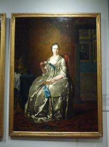 Portrait of Machteld Muilman, Frans van dee Mijn