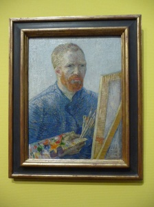 Self portrait, Vincent van Gogh