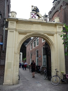 Gate to the Burcht