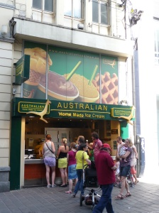 Again!  Where can you find this iconic ice cream in Australia?