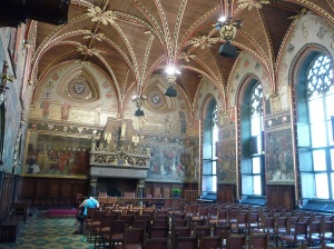 Te Great Hall of the Stadhuis