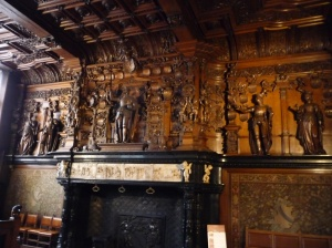 Fireplace in the Castellany