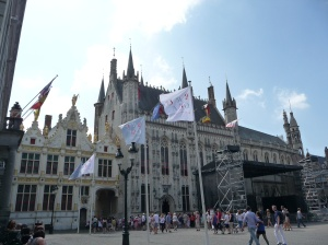 Stadhuis and Castellany, Brugge