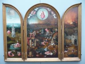 The last judgement, Hieronymus Bosch