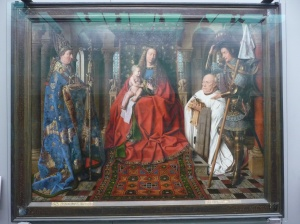 Madonna with Canon Joris van der Paele, Jan van Eyck