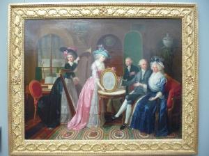 Portrait of the Villers  Family, Jean-Bernard Duvivier