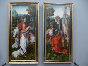 The Saints Catherine and Barbara