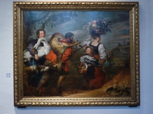 Farmers going to market, Jan Broekhorst and Frans Snyders