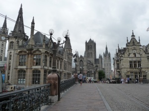St Michaels bridge, Ghent