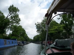 Cruising in a 'narrow boat' from Little Venice to Camden Markets)