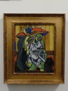 Weeping woman, Pablo Picasso