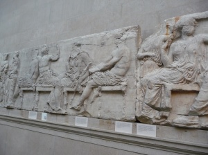 Parthenon marble sculptures (friezes), Greece, 447-438 BC