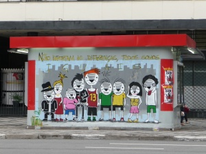 Sao Paolo reminds everyone that we're all equal!