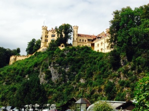 Hohenschwangau Castle - occupied by Ludwig's parents.