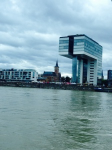 Mixing up the new with the old along the Rhine.