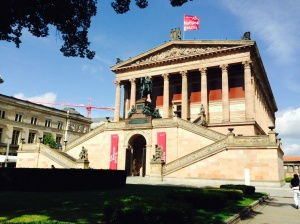 The wonderful galleries/museums on Museum Island