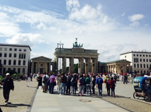 Brandenburg Gate - built by the Prussians in 1791