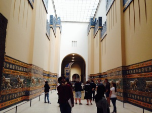The Processional Way to the Ishtar Gate of Babylon