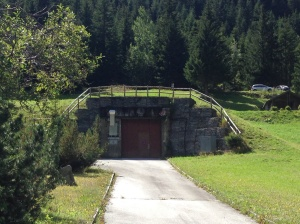Communal shelter - protecting against nuclear fallout.