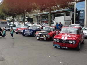 The Geneva to Cannes Classic about to kick off.